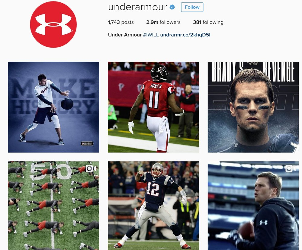 (via underarmour on Instagram)