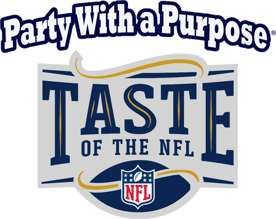 The Taste of the NFLis a 501c3 organization that raises money to support food banks throughout the United States.Image via Taste of the NFL Facebook page