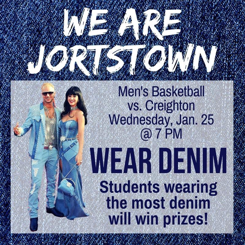 Georgetown University held their second annual Denim Night on January 25th. Photo courtesy of Chris Grosse.
