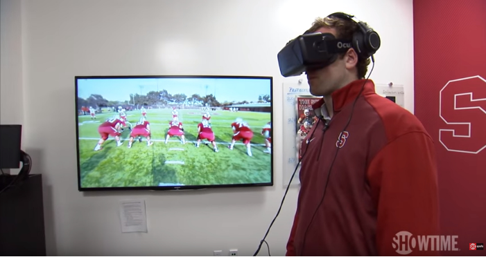 VR is changing the way that teams and players prepare for games.Photo via GamesBeat