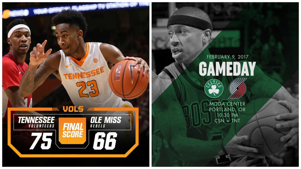 It was a great week on social, with the Tennessee Volunteers and Boston Celtics leading the pack. Lead Image Credits: @Vol_Hoops and @Celtics
