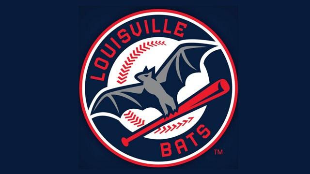 Louisville Bats logo. Photo via wdrb.com