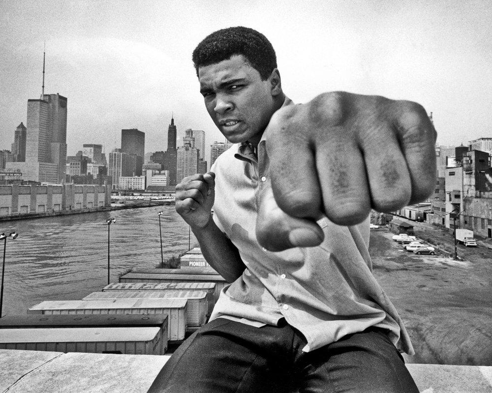 The great Muhammad Ali himself. Photo via jacobinmag.com