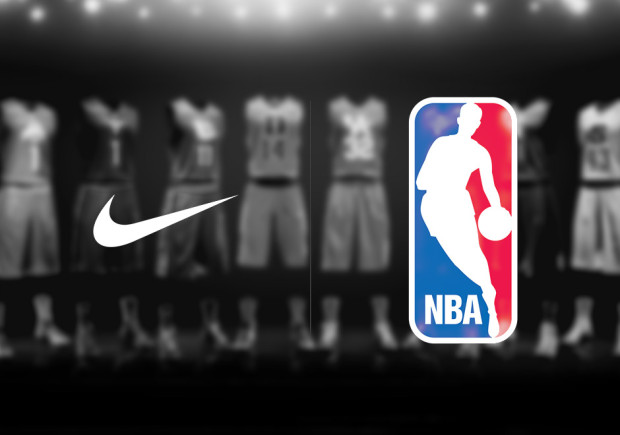 Next season, Nike will take over as the official uniform supplier of the NBA. Photo via sneakernews.com.