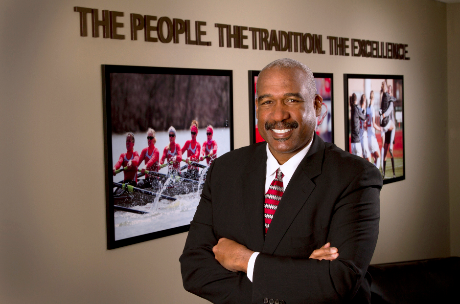 For Smith, inclusive leadership is extremely valuable. (J. Kevin Fitzsimons/Ohio State)