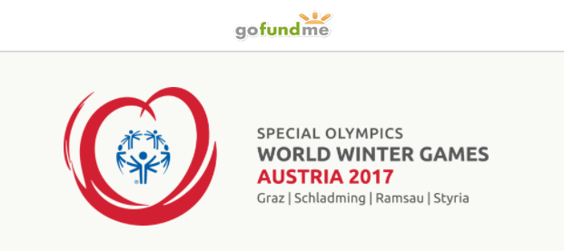 As part of the new partnership with the Special Olympics, GoFundMe will create pages on the site for athletes heading to the 2017 Special Olympic Winter Games. Image via GoFundMe