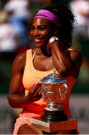 Serena Williams is just one of many athletes who refuse to be silent on issues important to them. Photo via Forbes