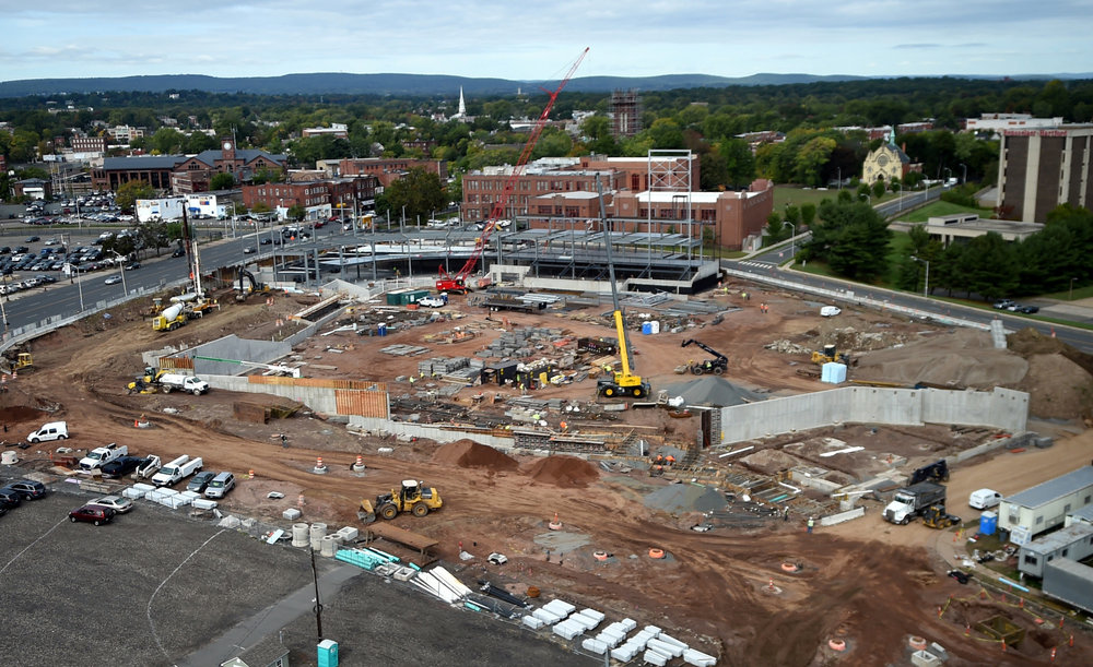 Dunkin' Donuts Park, October 5, 2015. Image via The Hartford Courant