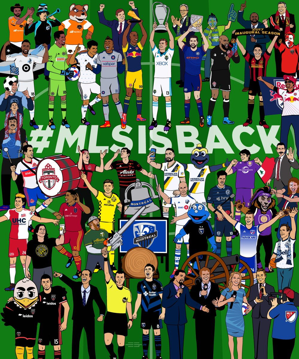 MLS is Back! Check out how teams are getting ready on social in this week's SM Seven! Lead Image Credit: @MLS