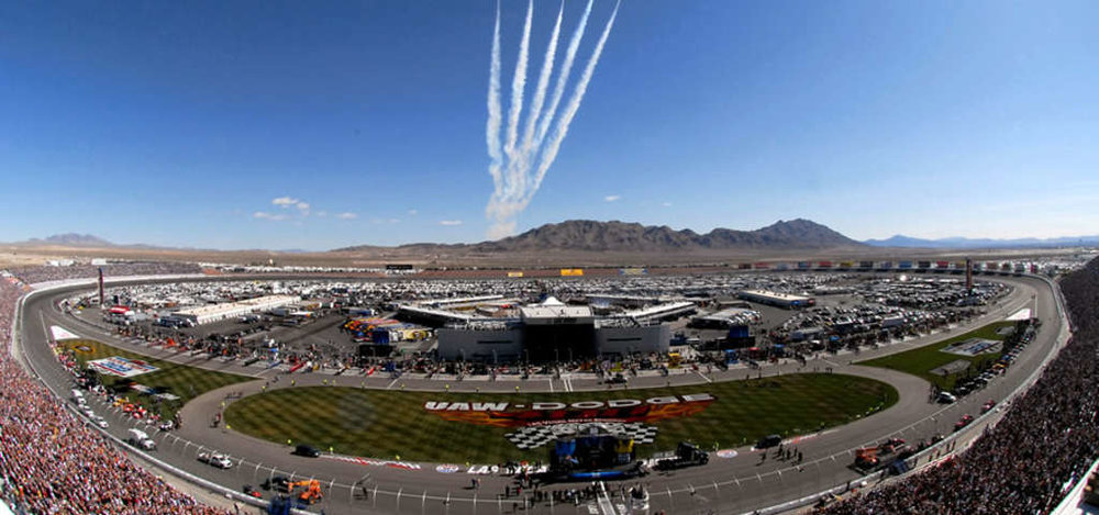 LVMS pre-race festivities Image via roadtrippers.com