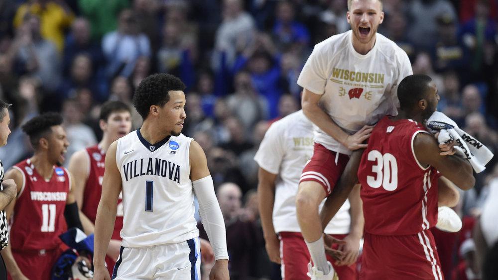 Wisconsin upsetting Villanova in NCAA 2017 Men's Tournament Mark Konezny USA Sports/Reuters
