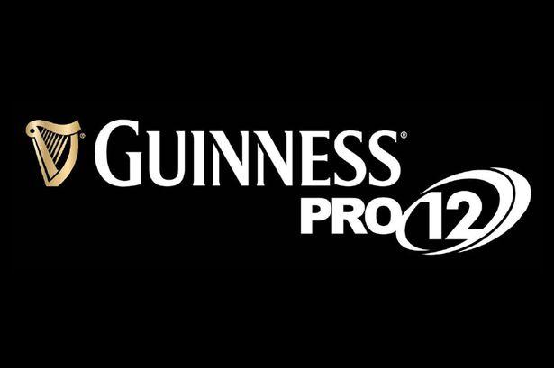 The Guinness Pro 12 logo. Image courtesy of Guinness Pro 12.