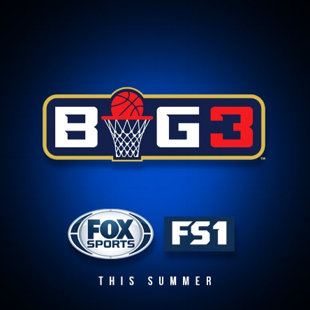 FOX Sports recently signed a deal to air the BIG3 games this summer. Image via @thebig3