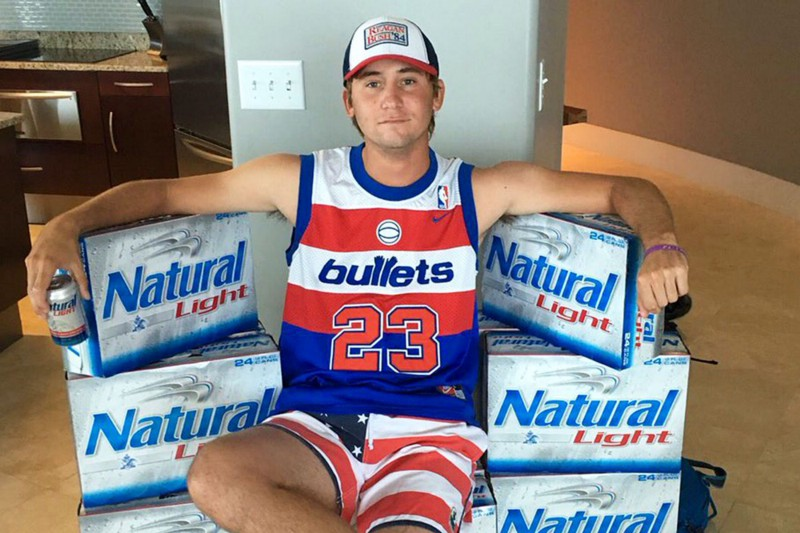 Golfer Smylie Kaufman was the first endorser for the brand since Mickey Mantle. Photo via theringer.com.
