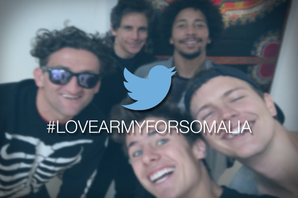 The campaign creators. Photo via the Love Army for Somalia GoFundMe page