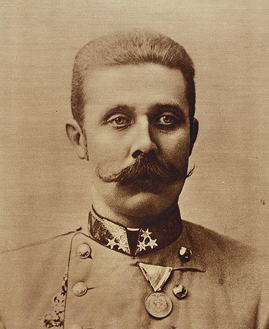 Archduke Franz Ferdinand. Wikimedia Commons.