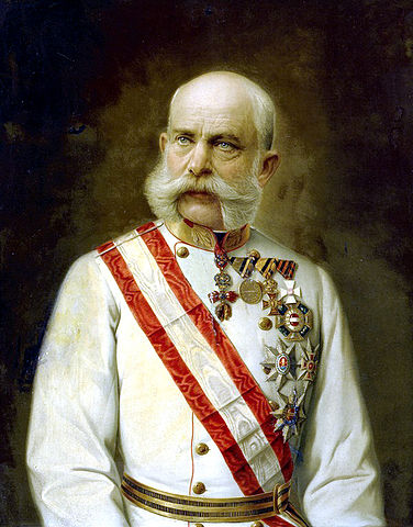 Franz Joseph of Austria, Wikimedia Commons.