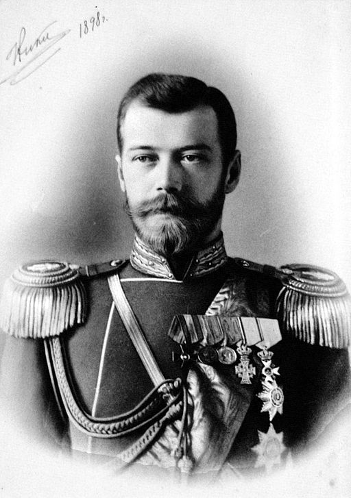 Tsar Nicholas of Russia, Wikimedia Commons.