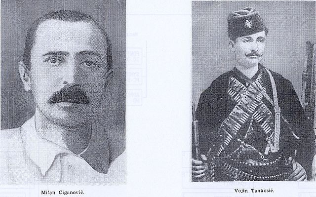 Two of Princip's Accomplices, Wikimedia Commons.