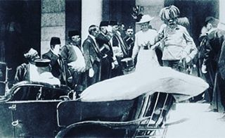Archduke Franz Ferdinand assassinated! 👆WWI Week continues--details on the blog, link in bio, go read up! #wwihistory #wwi #history #war #diplomacy #austria #empire #allies #mnblogger #midwestbloggers #historyblog #read #education #fun #love #interesting #worldhistory #europeanhistory #globalization #technology #undergrad #graduate