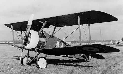Royal Air Force plane Sopwith Camel. April 1917. Wikimedia Commons.