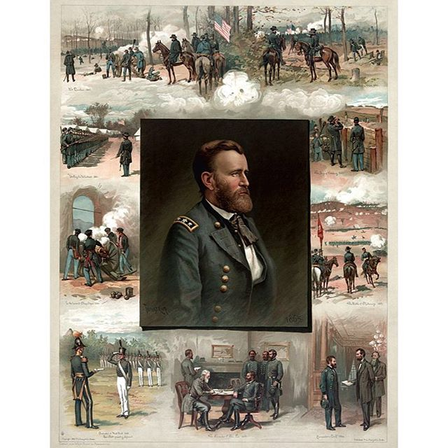 #todayinhistory Ulysses S. Grant is promoted to head of Union Forces after disappointingly lackluster performances of the precious commanders. Lincoln hoped that Grant would be able to inspire and out think the Confederates and turn around the war to give the north the chance at winning the war they knew they had. 🇺🇸🇺🇸🇺🇸 #civilwar #history #union #confederate #history #battle #north #south #unitedstatesofamerica #civilwarbattlefield #civilwarhistory #civilwar150 #pennsylvania #maryland #virginia #southcarolina #northcarolina #newyork #georgia #alabama #texas #tennesse #minnesota #ohio #illinois #indiana #missouri #mississippi