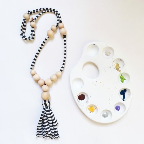 Custom Tassel Necklace by The Conflicted Pixie, $29