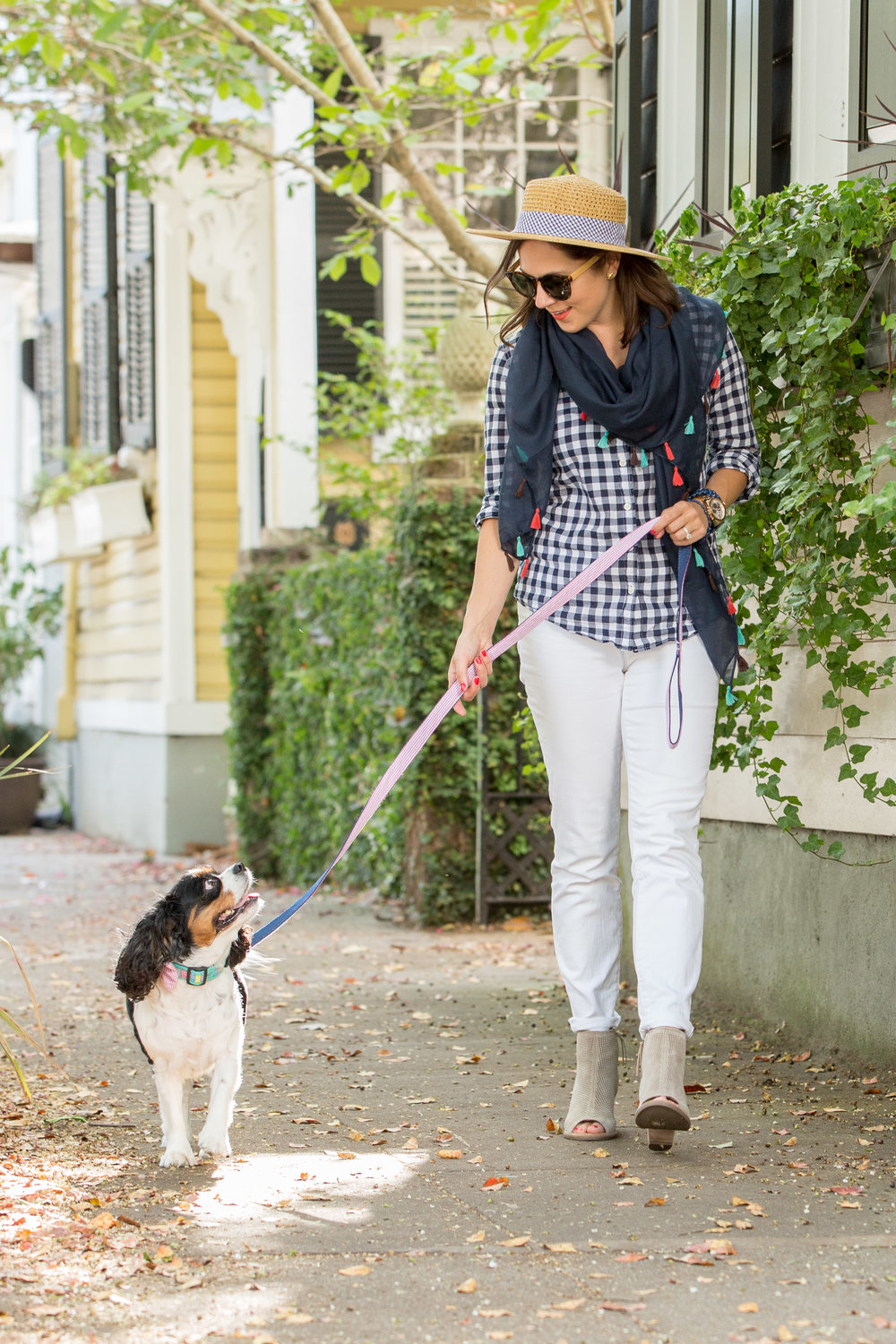 Clifford Pate Photography  || Hat, Scarf, & dog accessories from  Charleston Krewe