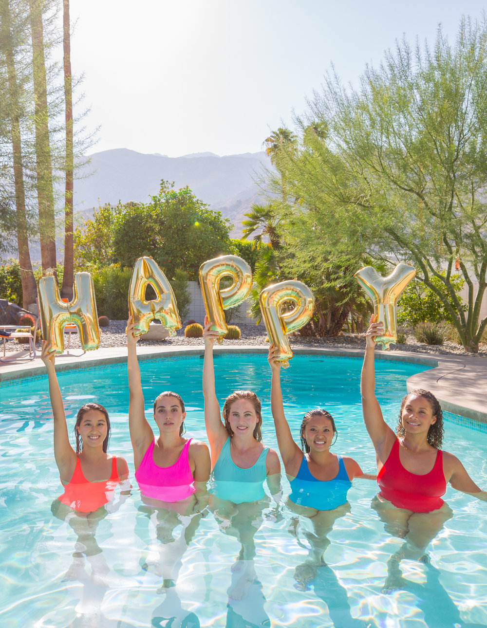 hanging with the Aqualillies at ACME House Co. in Palm Springs