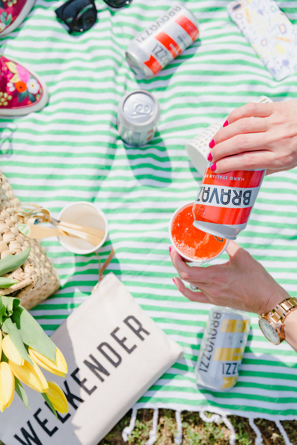 colorful picnic inspiration