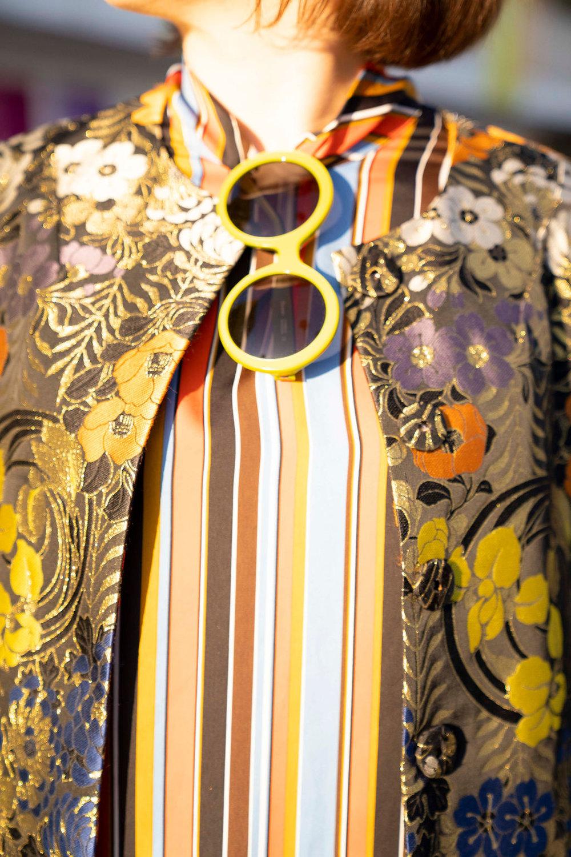 Chic round sunglasses from Friedrich's Optik in Charleston SC