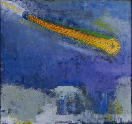 Halley's Comet as Seen by Giotto, 1979, Paterson Ewen