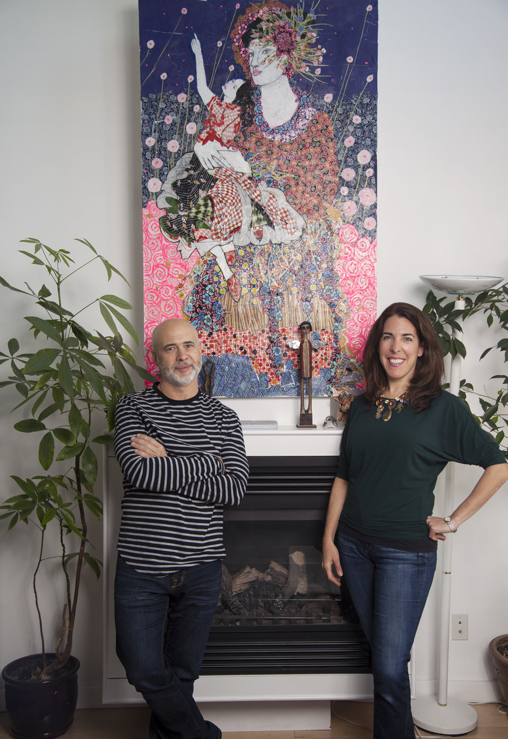 Frank Desimini and Alexa Samuels, Founder of Mercartto