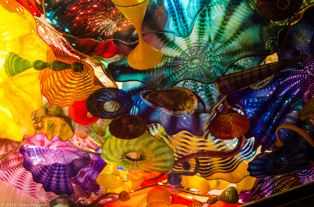 Oh, to have a Chihuly glass ceiling...