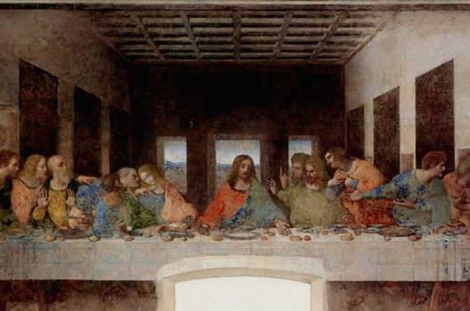 Leonardo da Vinci.The Last Supper. 1494-1495