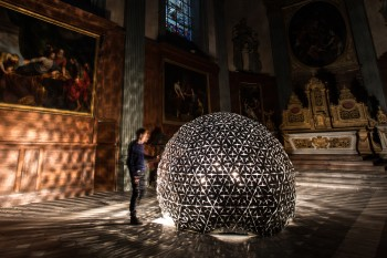 The Lille Lotus Dome, https://www.studioroosegaarde.net/story/711/lotus-dome-creates-techno-church-in-lille/#711