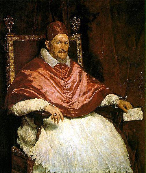 The original portrait by Velazquez