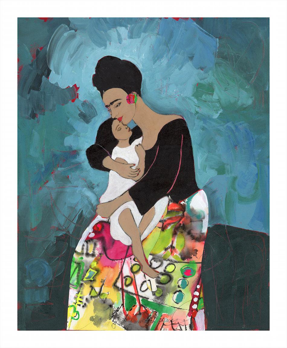 Frida Kahlo & her Wished-For Child Arsema | Jane Murdoch Adams | Mercartto