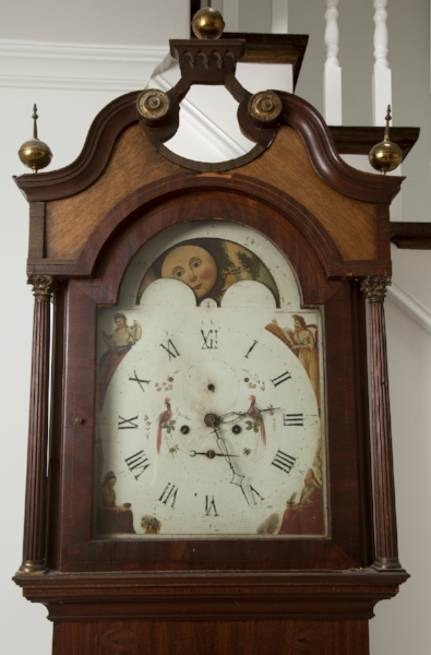 200 year-old grandfather clock