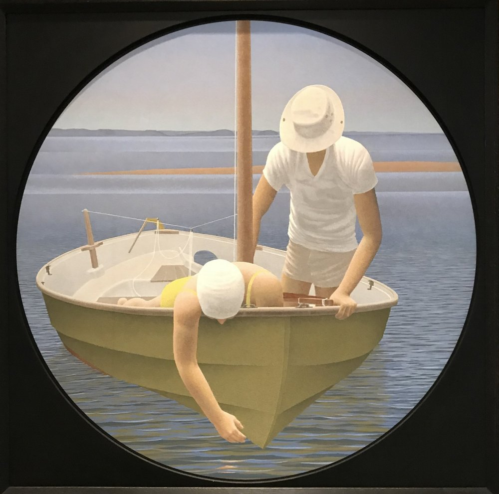 Alex Colville  Looking Down