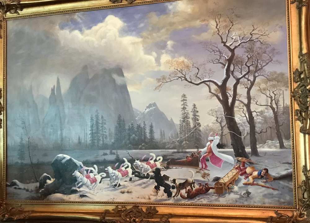 Kent Monkman,  Charged Particles in Motion