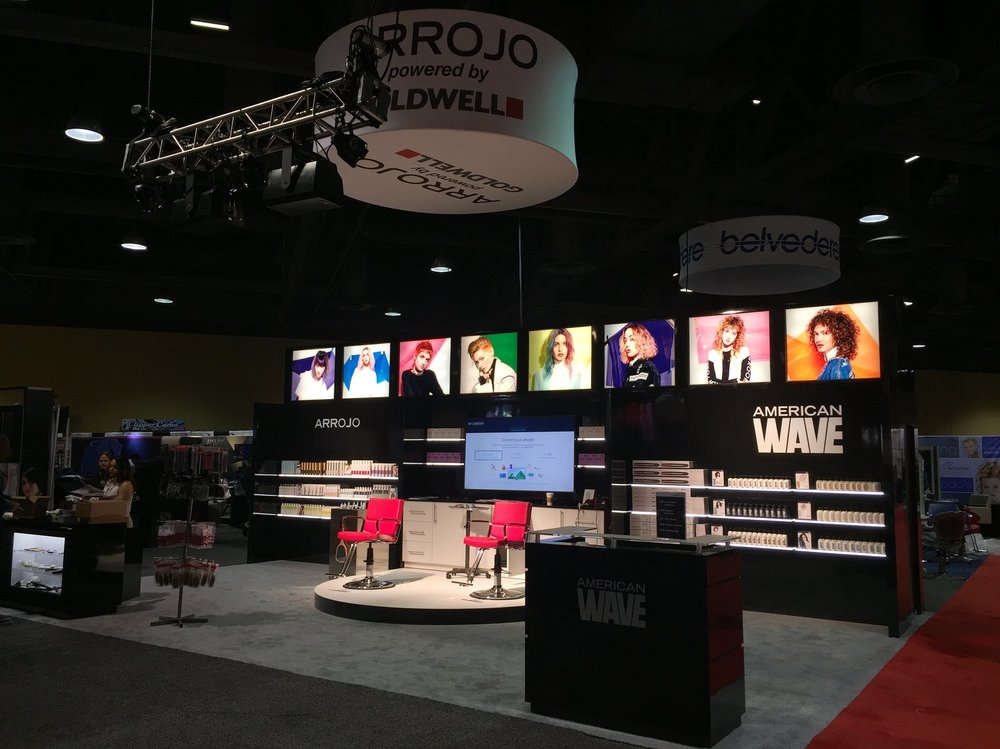 Set Up & Ready for ISSE to Begin, The ARROJO Show Booth
