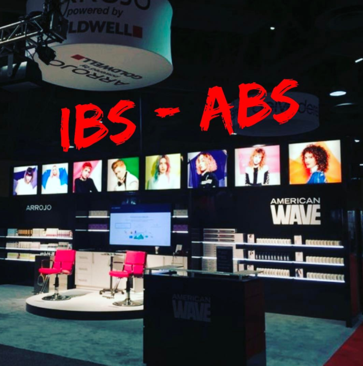 Our IBS booth. Next stop: ABS Chicago