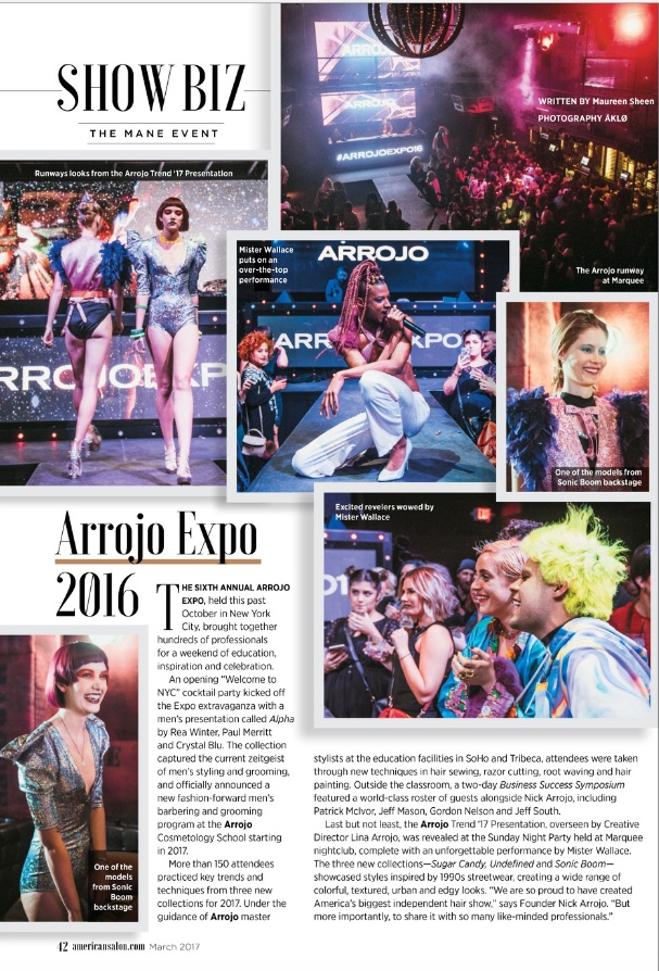 American Salon Were Bowled Over By the Expo Party