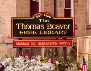 The Thomas Beaver Free Library