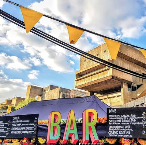 KERB Market Bar signage ( courtesy of KERB's Instagram )