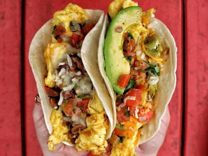 Torchy's Breakfast Tacos via  Trips to Discover