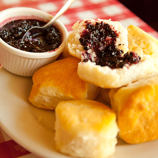 Photo from  Food & Wine's Best Biscuits in the US .