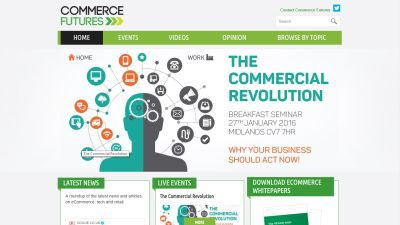 Commerce Futures Website