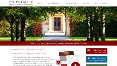Premier Property Search Website